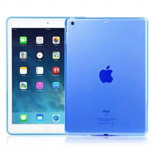 Чехол-накладка Smart Silicone iPad Air 1 силикон голубой