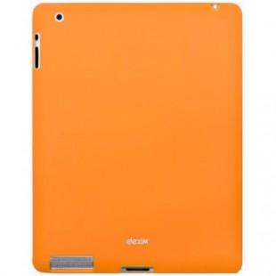 Чехол-накладка Dexim iPad 2/3/4 силикон оранжевый