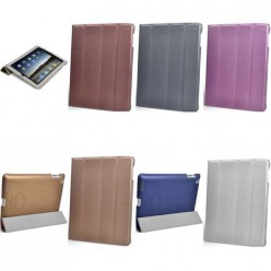 Чехол-книжка Gilgamesh iPad mini 1/2/3 экокожа белый