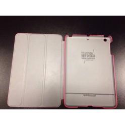 Чехол-книжка G-Сase Slim Shell iPad mini 1/2/3 экокожа розовый