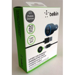 Автомобильное зарядное Belkin Car Charger Lightning for iPhone/iPod