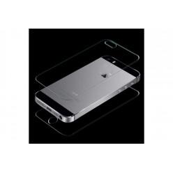 Защитное стекло 0,26мм iPhone 5/5s глянцевый прозрачный зад