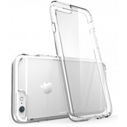Чохол-накладка Silicone Case iPhone 6/6s силікон прозорий