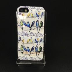 Чехол-накладка Ted Baker Case iPhone 5/5s силикон разноцветный