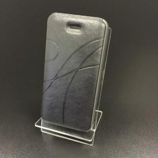 Чохол-книжка Oscar iPhone 5/5s екошкіра чорний