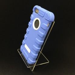 Чохол-накладка Hoco Antigravity Case iPhone 5/5s силікон/пластик синій