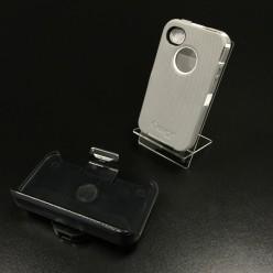 Чохол-накладка Otterbox Defender на iPhone 4/4s гума сірий