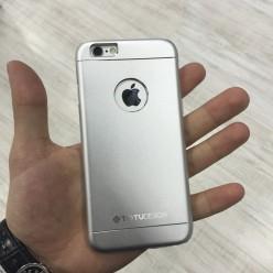 Чехол-накладка Totu Jaeger Case iPhone 6/6s металл серебряный
