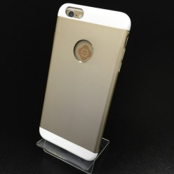 Чохол-накладка Totu Knight Case iPhone 6 Plus/6s Plus метал бежевий