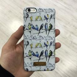 Чехол-накладка Ted Baker Case iPhone 6 Plus/6s Plus силикон разноцветный
