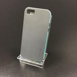Чехол-накладка U-Time Series iPhone 5c пластик серый