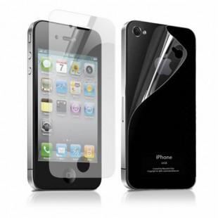 Пленка Remax Microcrystalline 2in1 Crystal For iPhone 4/4s глянцевый прозрачный