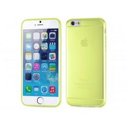 Чехол-накладка Totu Soft iPhone 6/6s силикон желтый