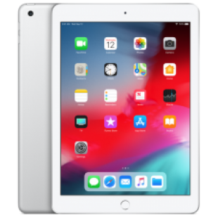 iPad Wi-Fi + LTE 32GB Silver (MR6P2) 2018