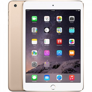 Apple iPad mini 3 Wi-Fi 16GB Gold Новый