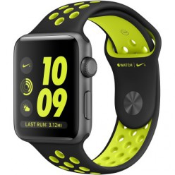 Apple Watch Series 2 Nike+ 38mm Space Gray Aluminum Case with BlackVolt Nike Sport Band (MP082)