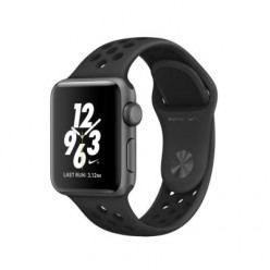 Apple Watch Nike+ 38mm Space Gray Aluminum Case with Anthracite/Black Nike Sport Band (MQ162)