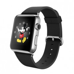 Apple Watch 42mm Stainless Steel Case with Black Classic Buckle MJ312 Новый