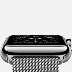 Apple Watch 42mm Stainless Steel Case with Milanese Loop MJ3Y2 Новый