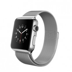 Apple Watch 38mm Stainless Steel Case with Milanese Loop MJ322 Новый