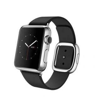 Apple Watch 38mm Stainless Steel Case with Black Modern Buckle MJYK2 Новый