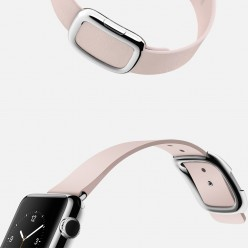 Apple Watch 38mm Stainless Steel Case with Soft Pink Modern Buckle MJ362 Новый