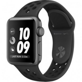 Apple Watch Nike+ Series 3 (GPS) 38mm Space Gray Aluminum w. Anthracite/BlackSport B. (MQKY2)