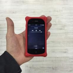 Чехол-накладка Disney Case iPhone 4/4s силикон/пластик красный