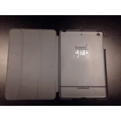 Чехол-книжка G-Сase Slim Shell iPad mini 1/2/3 экокожа серый