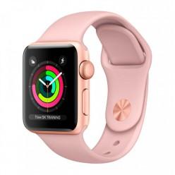 Apple Watch Series 3 GPS + Cellular 42mm Gold Aluminum w. Pink Sand Sport B. (MQK32)