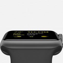 Apple Watch Sport 38mm Space Gray Aluminum Case with Black Sport Band MJ2X2 Новый