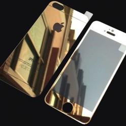 Glass Color For iPhone 5/5s F+B глянцевый золотой