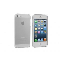 Чехол-накладка Silicone Case iPhone 5/5s силикон прозрачный