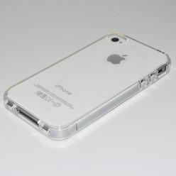 Чехол-накладка Silicone Case iPhone 4/4s силикон прозрачный
