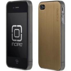 Чехол-накладка LeDeux iPhone 4/4s металл золотой
