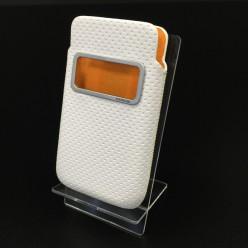 Чехол-карман Capdase Smart Pocket Case iPhone 4/4s экокожа белый