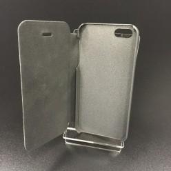 Чехол-книжка Oscar iPhone 5/5s экокожа черный