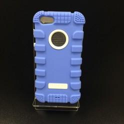 Чехол-накладка Hoco Antigravity Case iPhone 5/5s силикон/пластик синий