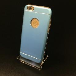 Чехол-накладка Totu Jaeger Case iPhone 6/6s металл голубой