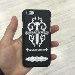 Чехол-накладка Chrome Hearts Case iPhone 6/6s пластик черный