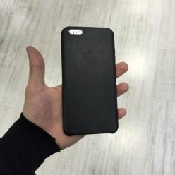 Чехол-накладка Smart Сase iPhone 6 Plus/6s Plus экокожа черный