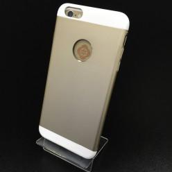 Чехол-накладка Totu Knight Case iPhone 6 Plus/6s Plus металл бежевый