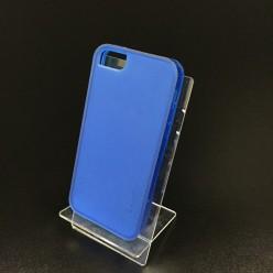 Чехол-накладка Usams iPhone 5c X-Match Series силикон синий