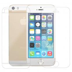 Пленка Remax Microcrystalline 2in1 Crystal For iPhone 5/5s глянцевый прозрачный